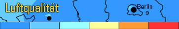 Feinstaub Prognose 3 Tage - Mietspiegel-Abfrage täglich - Lärmbelästigung Tempelhof - Straßenverkehr
