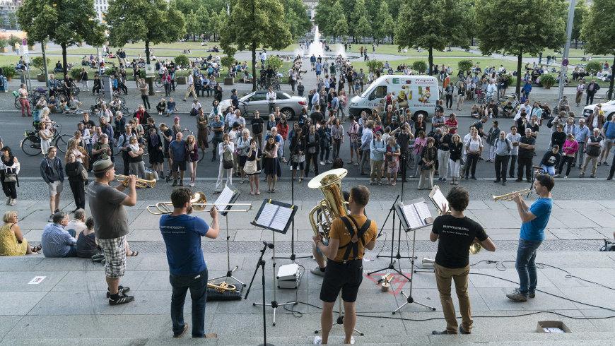 Fête de la Musique in Berlin - Foto: ©Kai Bienert