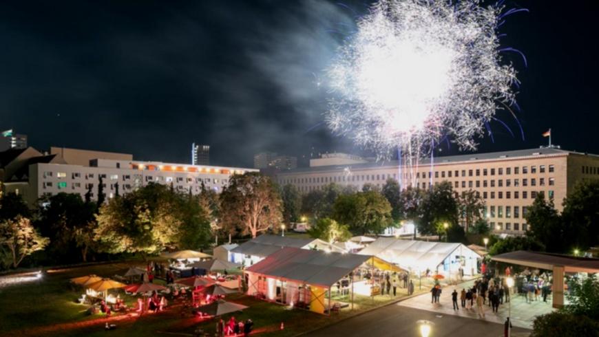 Feuerwerksshow zum Großen Sommerfest des VBKI e,V
