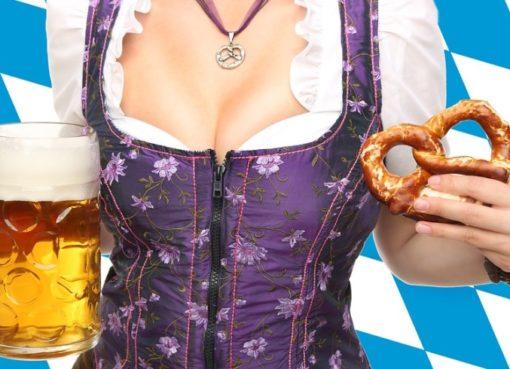 Blau-weiße Heimat: Bavaria, Dirndl, Bier & Brezn