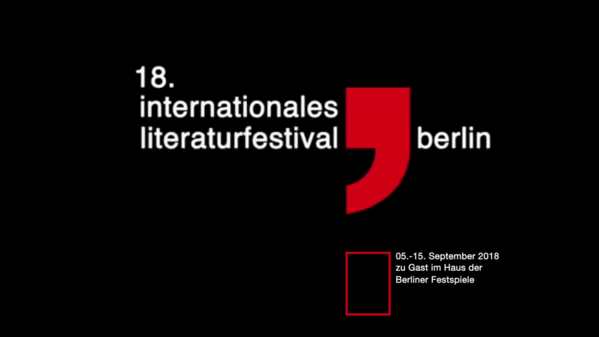 18. Internationales Literaturfestival Berlin