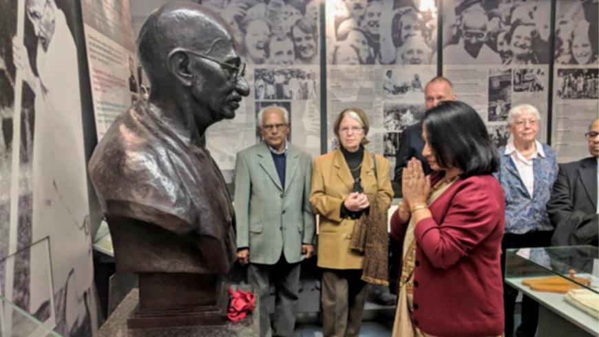 150.Geburtstag von Mahatma Ghandi