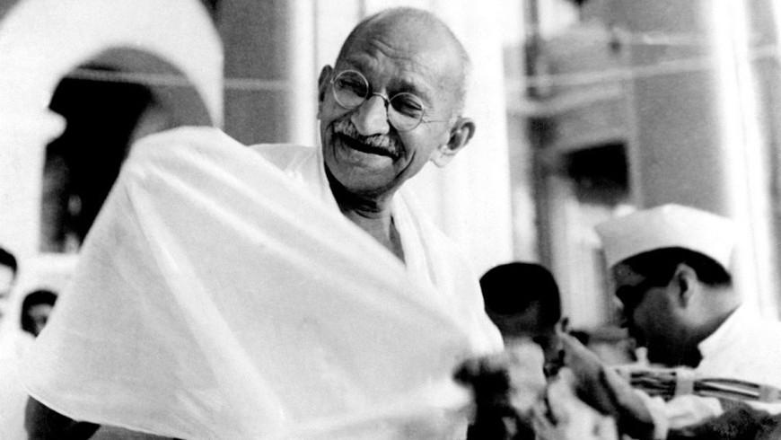Mahatma Ghandi, vor 1942