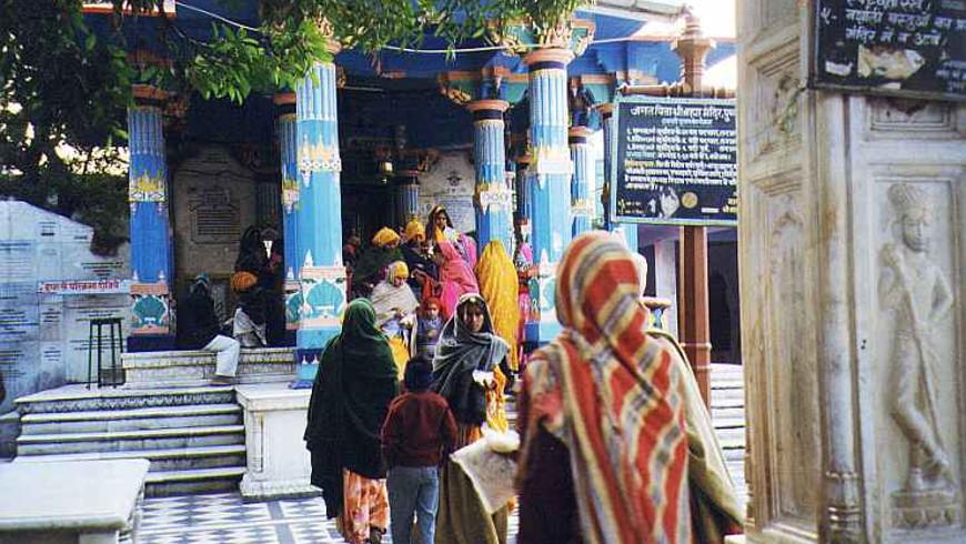 Brahma-Tempel in Pushkar - Foto: © Roswitha Mosler