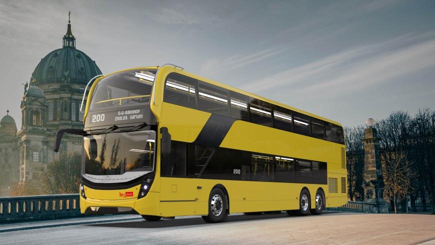 BVG kauft Doppeldecker-Bus Enviro 500