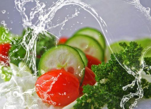 Salat und Frischsalate
