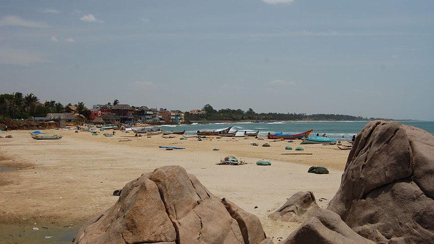 Ein Strand bei Mamallapuram - Foto: © Alexander Pfeiffenberger, cc-by-2.0
