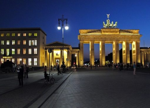 Pariser Platz mit dem Brandenburger Tor