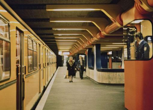 Ralf Schüler und Ursulina Schüler-Witte, U-Bahnhof Schloßstraße
