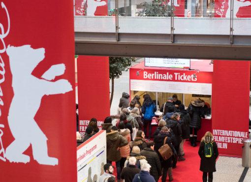 Ticket Counter in den Potsdamer Platz Arcaden