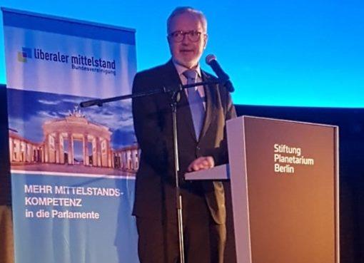 Dr. Werner Hoyer, Präsident EIB