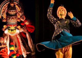 """Kalamandalam Goutan & Sudip Chakra """"Geetopadesham"""""""