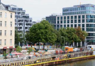 Neubau: Schiffbauerdammbrücke