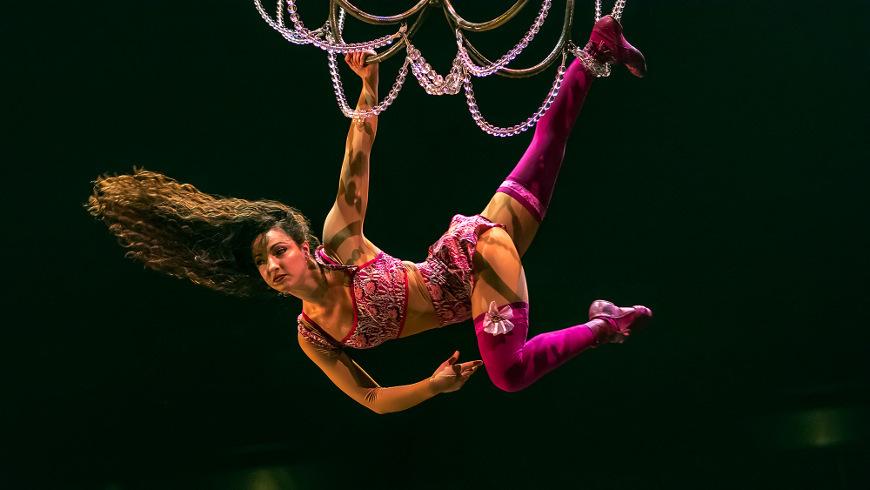 Leiter Act aus der Show CORTEO - Foto: Circque du Soleil