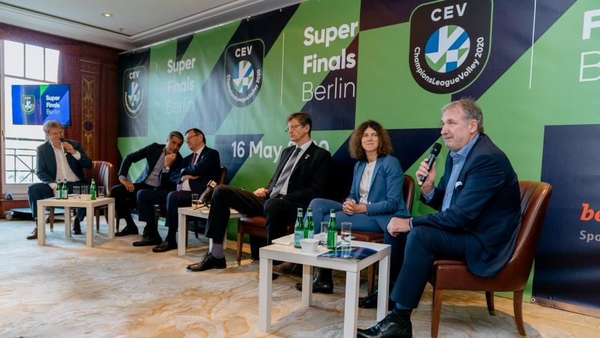 CEV Champions League Volley 2020 Super Finals