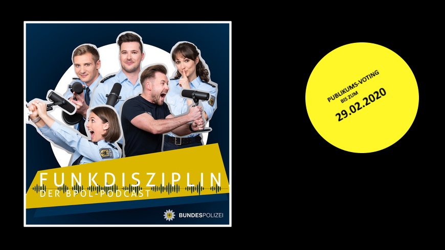 Funkdisziplin - der Podcast der Bundespolizei