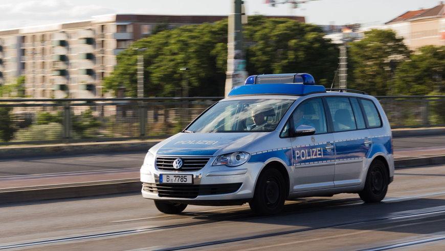 Streifenwagen Polizei Berlin