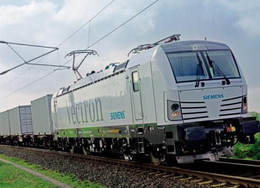 Vectron-Lokomotive von Siemens Mobility