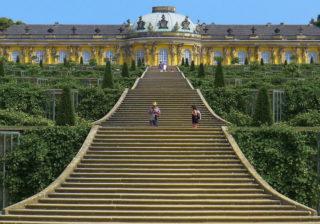 Schloß Sanssouci in Potsdam