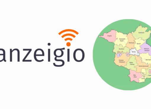 """anzeigio """"SmartCity x SmartCountry-Region 5.0"""""""