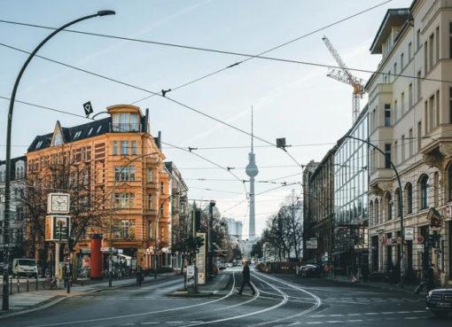 Leere Innenstadt