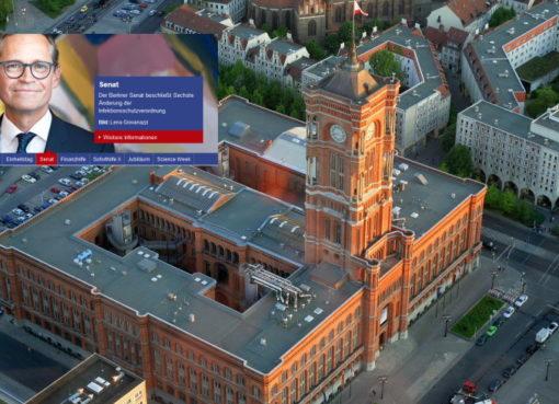 Stadtportal berlin.de vor einer Neukonzeption
