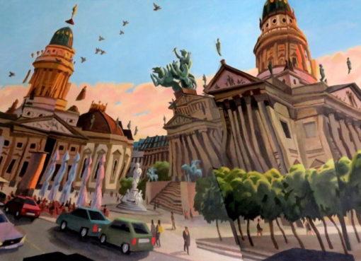 Rudolf Stüssi: Gendarmenmarkt