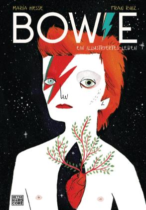 Buchcover: María Hesse/Fran Ruiz:  Bowie. Ein illustriertes  Leben.