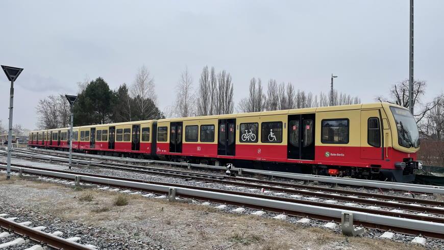 S-Bahn: der 50. modernisierte Zug