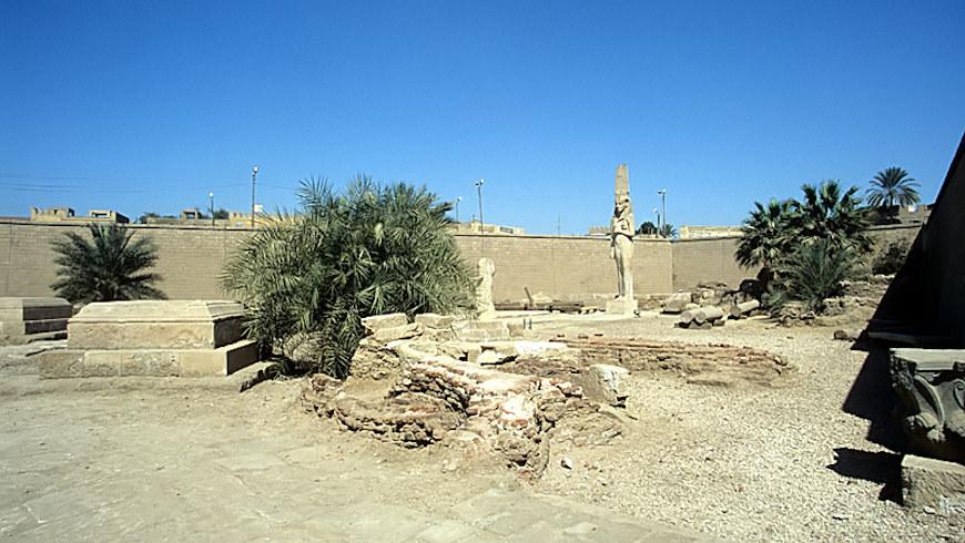 Freilichtmuseum in Achmim, Verwaltungsbezirk Sohag, Ägypten