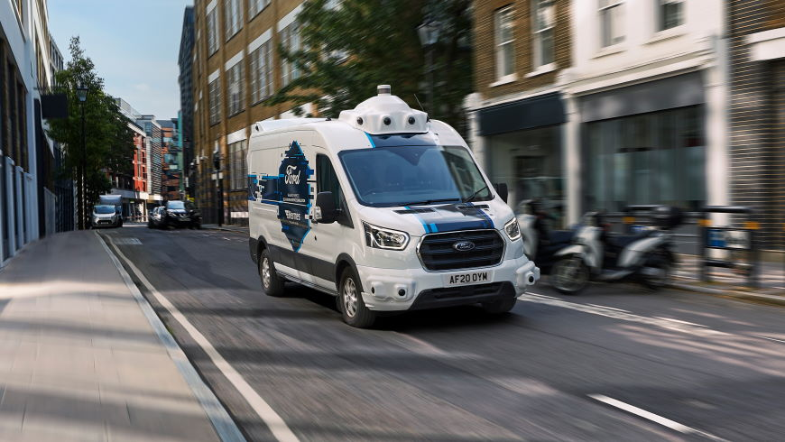 Ford / Hermes Driverless Delivery