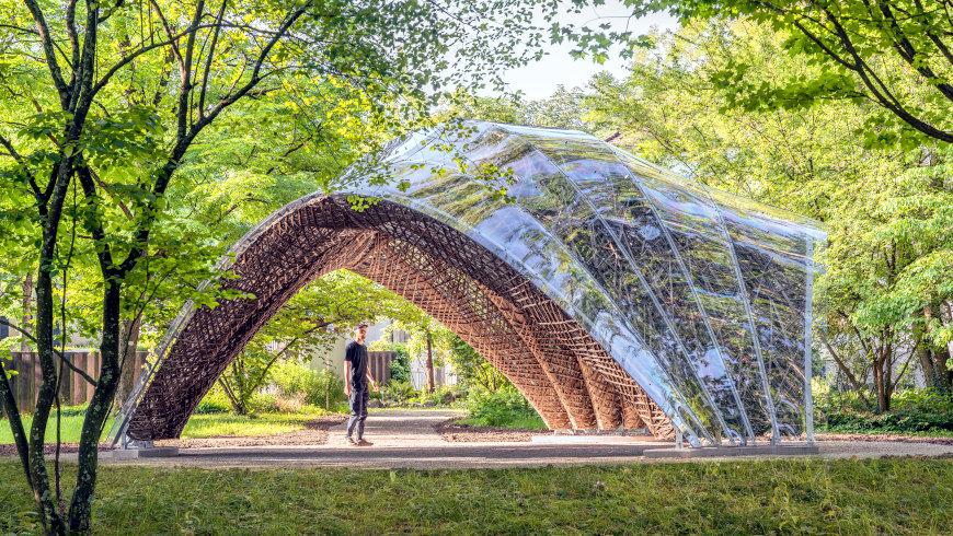 livMats Pavillon: Außenansicht