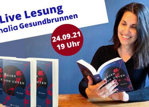 Live Lesung aus dem Verlagsdebüt von Barbara Lah
