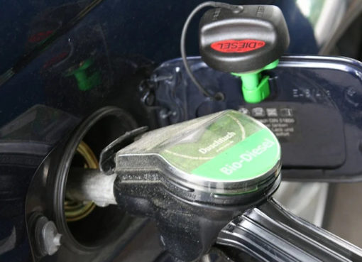 Diesel Zapfstelle
